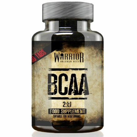 Warrior Essentials BCAA 2:1:1 x 60 Tablets; Branch Chain Amino Acids
